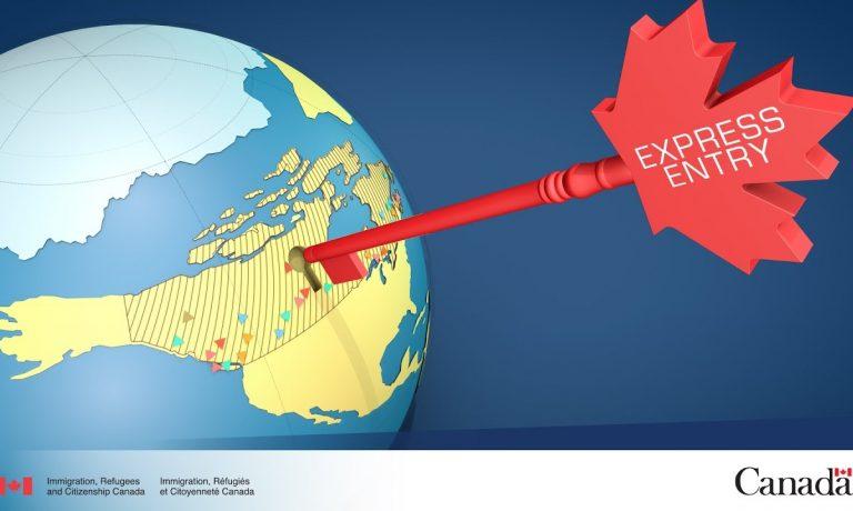 روش مهاجرت کانادا express entry