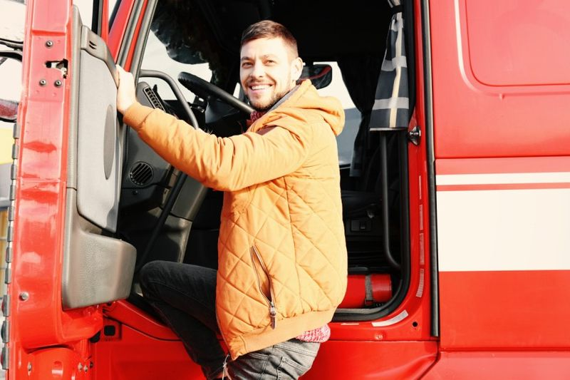 رانندگان کامیون های سنگین