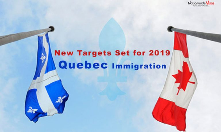 اهداف جدید مهاجرت به کانادا برای ویزای اقامت دائم کبک سال ۲۰۱۹