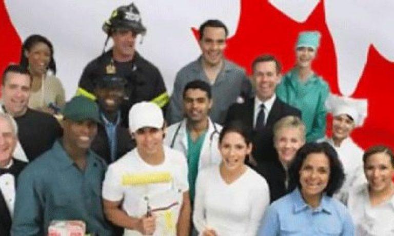 اسکیل ورکر کانادا با پشتیبانی خانواده